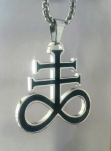 Satanic Cross, Stainless Steel